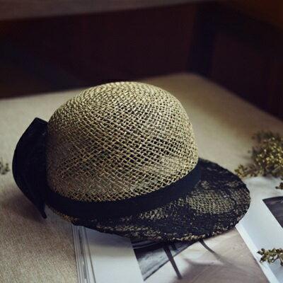 草帽手工編織棒球帽-運動休閒戶外時尚女遮陽帽73si13【獨家進口】【米蘭精品】