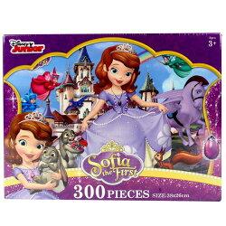 小公主蘇菲亞拼圖 300片拼圖 QFQ33A 38cm x 26cm MIT製/一盒入{促250}正版授權