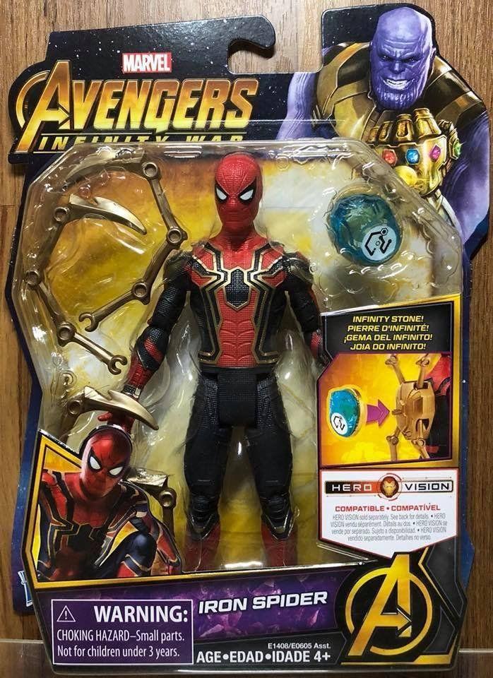 ☆勳寶玩具舖【現貨】漫威 復仇者聯盟 6吋人物組&無限寶石--IRON SPIDER
