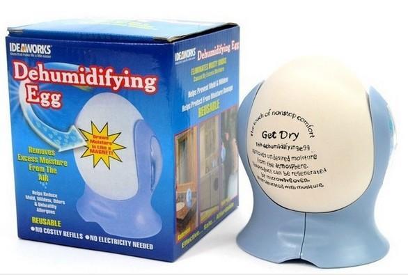 歐美熱銷Dehumidifying Egg 陶瓷環保除溼蛋 衣櫃除溼 室內除濕 除濕機可參考 可重複使用