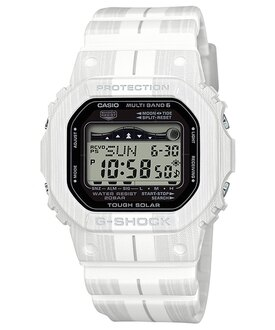 CASIO G-SHOCK GWX-5600WA-7 衝浪風格潮汐電波數位腕錶