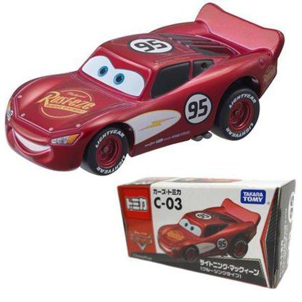 【真愛日本】14032400042 TOMY車-閃電麥坤C03巡航 迪士尼 Cars 汽車總動員 小車 收藏 擺飾