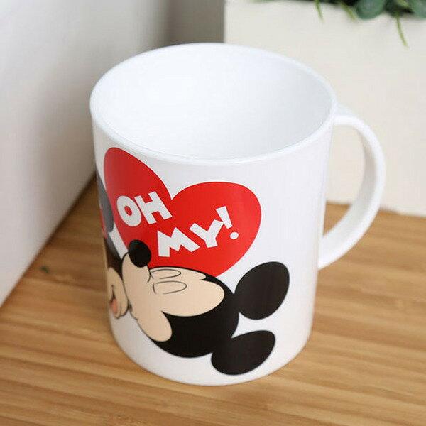 ~真愛 ~ 17072000002 塑膠馬克杯~米妮睡覺微笑白 迪士尼 米老鼠 米奇 米妮