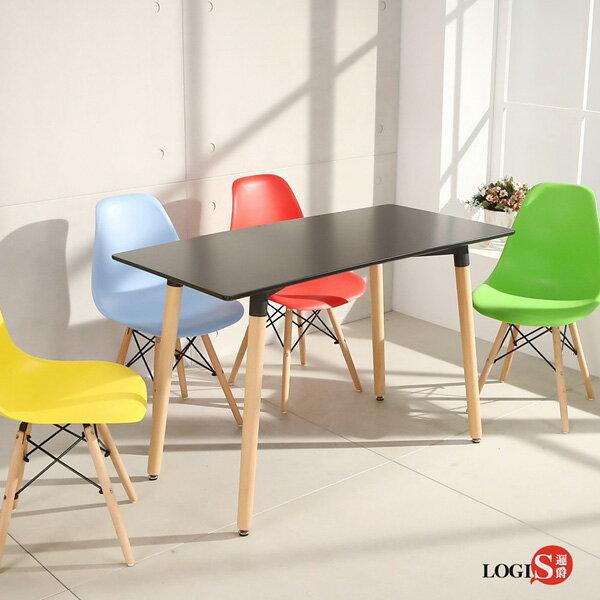 LOGIS邏爵-自然簡約北歐寬60cm餐桌長桌工作桌書桌休閒桌T12060B
