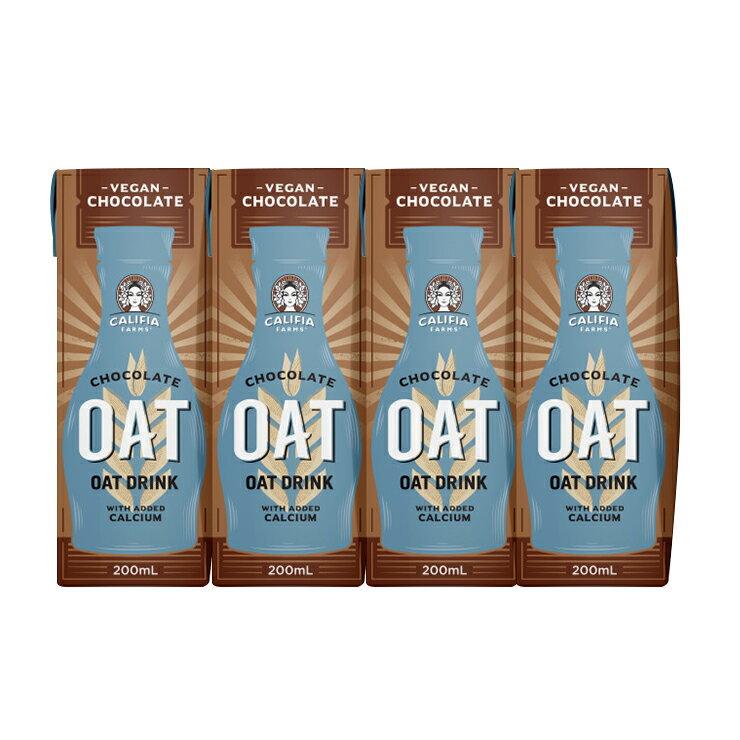 Califia Farms 巧克力燕麥奶200ml/罐(4罐組)(效期20210930)