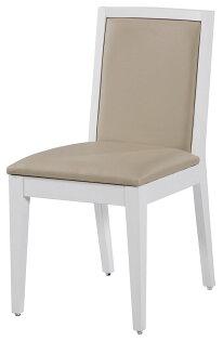 【石川家居】YE-A475-11萊恩白色餐椅(皮面)(單張)(不含餐桌與其他商品)台北到高雄搭配車趟免運
