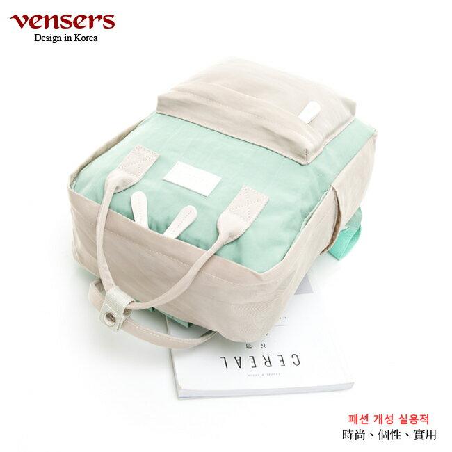 【vensers】 都會風後背包 (RB0890401卡其綠) 1