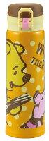 小熊維尼周邊商品推薦日本 SKATER 迪士尼 小熊維尼 輕量不鏽鋼保溫保冷瓶 500ml 保溫杯*夏日微風*