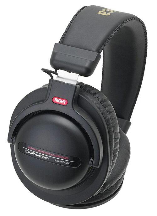 Audio-Technica【日本代購】鐵三角 耳罩耳機 ATH-PRO5MK3 BK-黑色