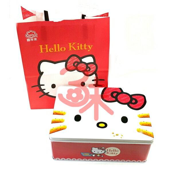 (台灣) 喜年來 Hello kitty禮盒-芝麻小蛋捲~1盒240g~1盒345元