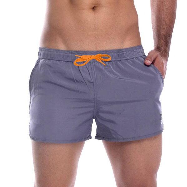 IF時尚購物:P.S健身型運動短褲(灰色),99MB1721G2,PrivateStructure