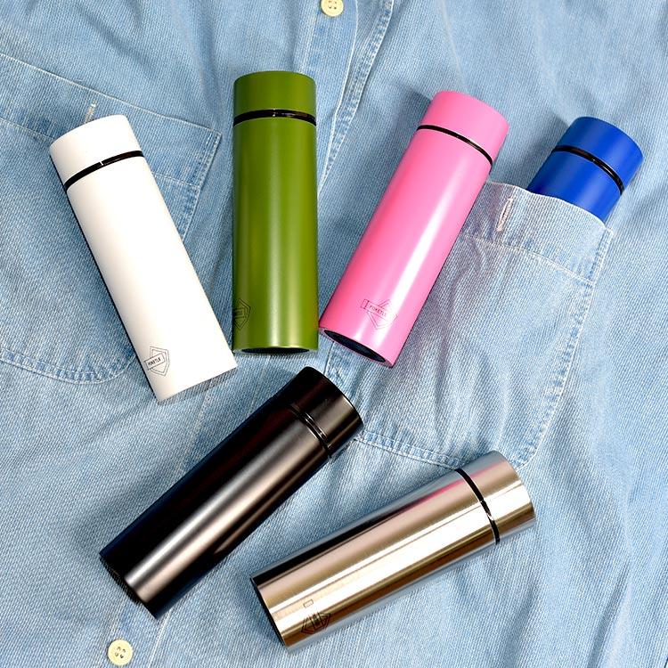 日本最小 POKETLE 超輕量 不鏽鋼保溫瓶 保冰隨行瓶 120ml 日本正版商品 1