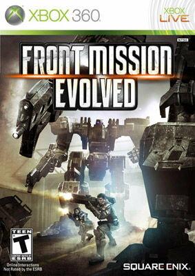 【Playwoods】[XBOX 360]雷霆任務:進化 Front Mission (英文亞版-輔導級-全新現貨- 動作-XBOX360)