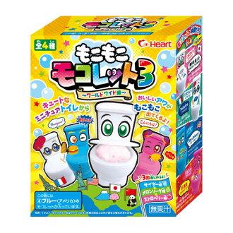 日本*Heart手作DIY馬桶清涼飲料12g(附玩具)