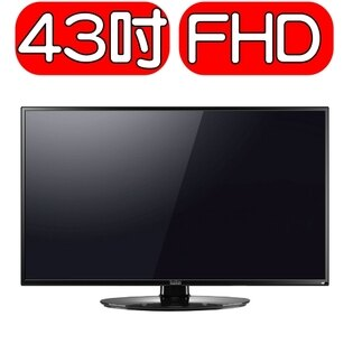 可議價★回饋15%樂天現金點數★Kolin歌林【KLT-43EVT01】43型低藍光液晶顯示器+視訊盒