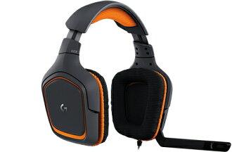羅技 G231 PRODIGY 遊戲耳機麥克風 981-000630 為您的所有遊戲提供驚人品質的音訊