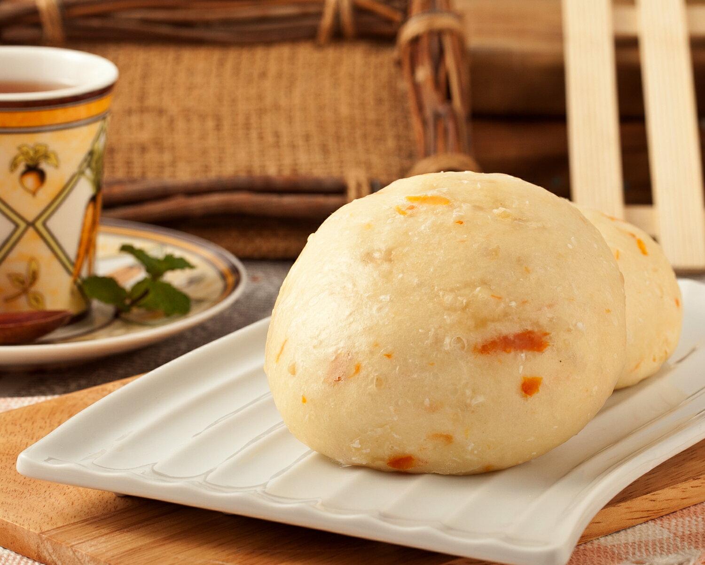南瓜乳酪饅頭 2