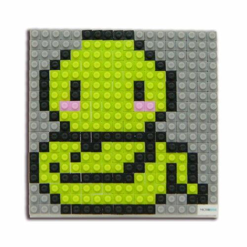 微高積木-生肖-蛇/ Microbrik / 2D/ 微型積木/ 裝飾/ 創作 / 美勞/ 療育/ 紀念品/ 伯寶行
