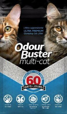 【免運賣場】加拿大 克臭靈Odour Buster【 全方位貓砂 (60天無臭味)】 12kg