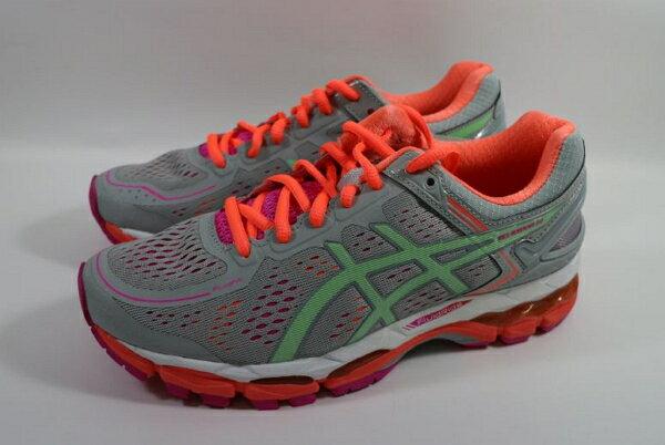 [陽光樂活] ASICS 亞瑟士 女款 慢跑鞋 運動鞋 GEL-KAYANO 22 支撐型 超強緩衝避震 T597N-1087