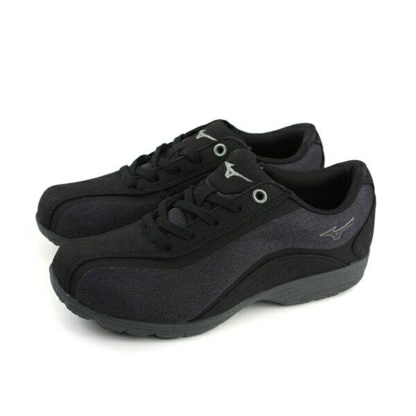 美津濃MizunoLS802健走鞋黑色女鞋B1GF183208no016