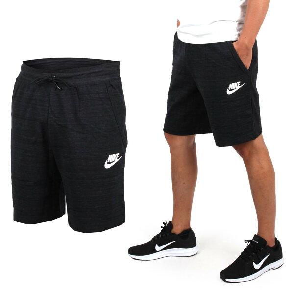 NIKE男針織短褲(免運慢跑路跑【04351436】≡排汗專家≡