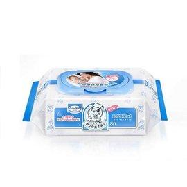 貝恩-BaanEDI超純水柔濕巾濕紙巾-超厚80抽8串(24包)1350元