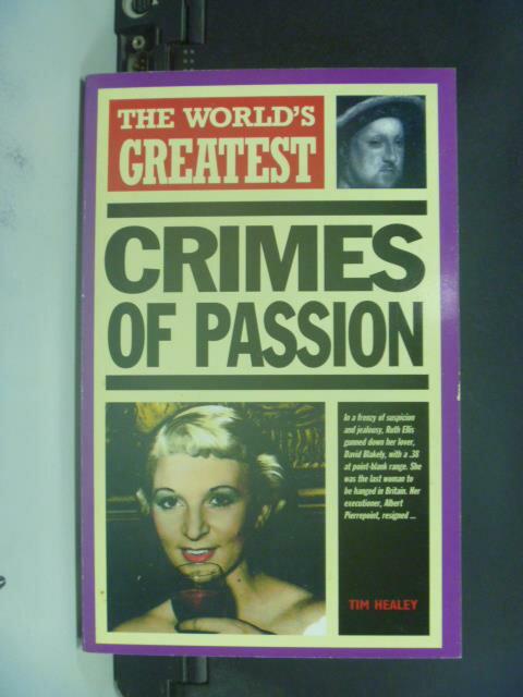 【書寶二手書T6/原文書_GEP】The World's Greatest Crimes of Passion