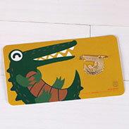 鱷魚 書籤 18K金  韓國 進口 連線 德德