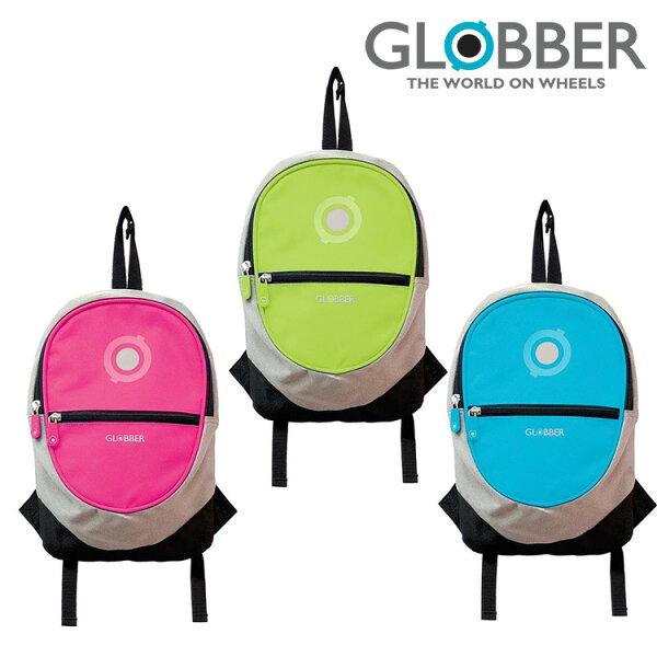 背包書包後背包GLOBBER多功能兒童後背包-多款可選獨家T-bar掛扣帶(適用於各品牌滑板車)