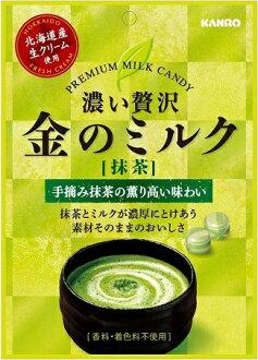有樂町進口食品 甘樂 北海道 金牛奶糖 抹茶 期間限定 4901351014882