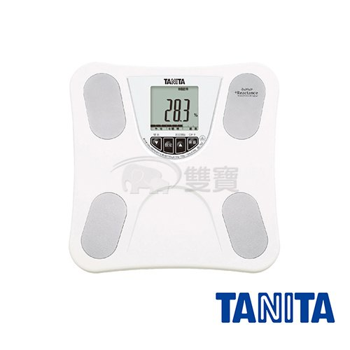 【贈好禮】塔尼達TANITA四合一體脂肪計(白色) BC-753WH體脂計BC753體重計