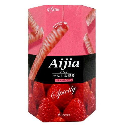 Aijia 愛加 日式煎捲 草莓巧克力風味 84g