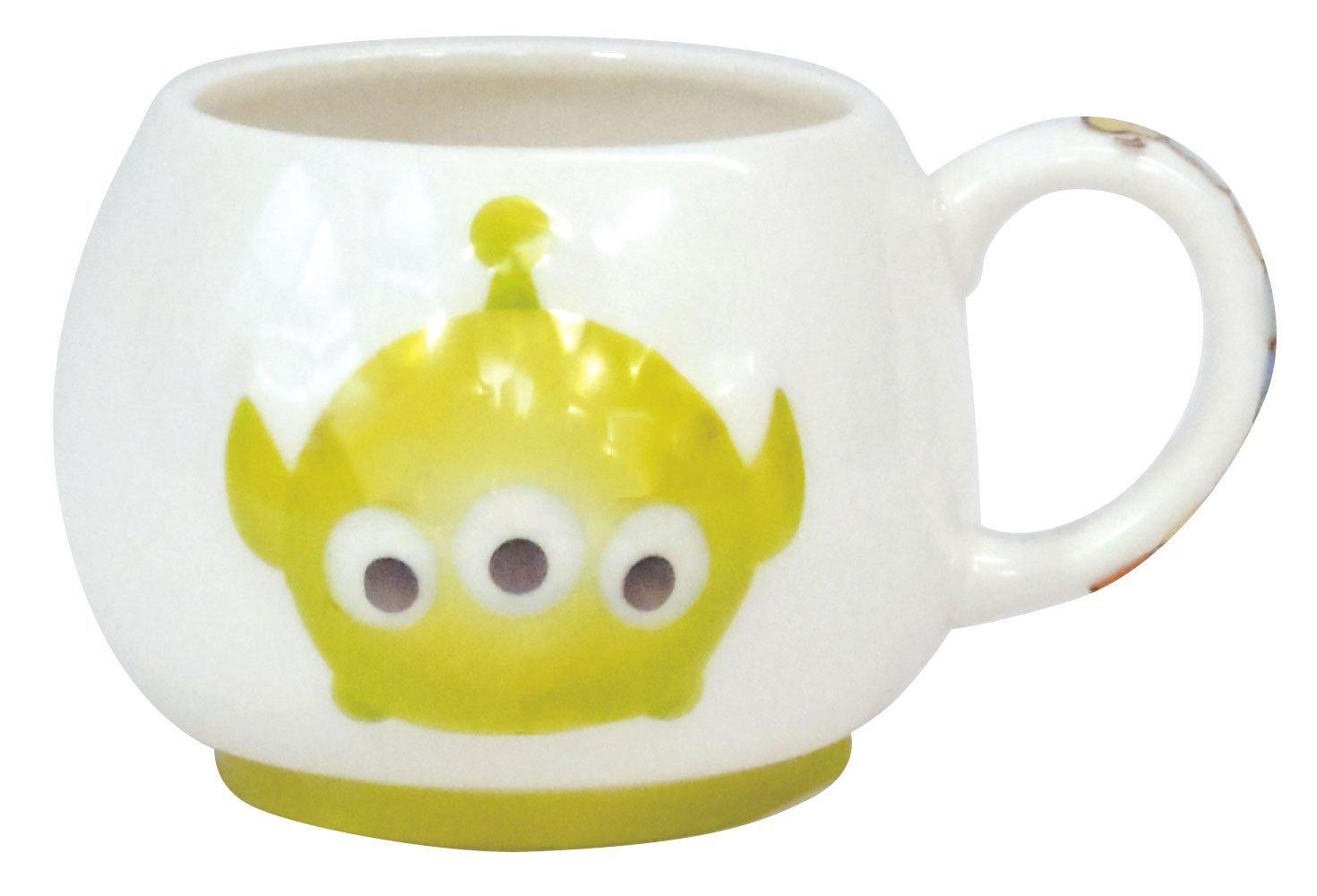 【真愛日本】15061700020 茲姆杯-立體三眼怪 迪士尼 玩具總動員 TOY 杯子 水杯 馬克杯 正品 限量 預購