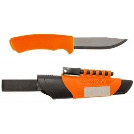 ├登山樂┤瑞典MORAKNIVBUSHCRAFTSURVIVAL不鏽鋼野外求生軍用直刀橘#12051