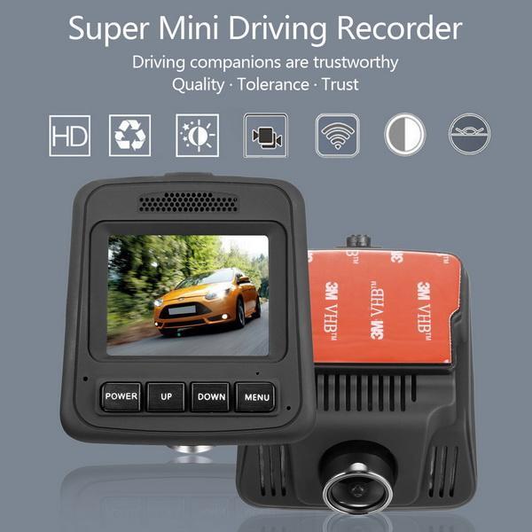 HD Wifi Dash Cam Dual Camera Dashcam 170 Angle Car Dash Camera Driving Recorder with Loop Recording G-Sensor 2