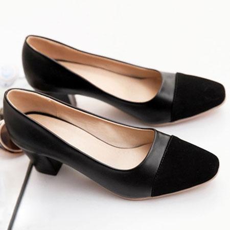 高跟鞋 名模最愛小香風撞色包鞋【S1533】☆雙兒網☆ 5