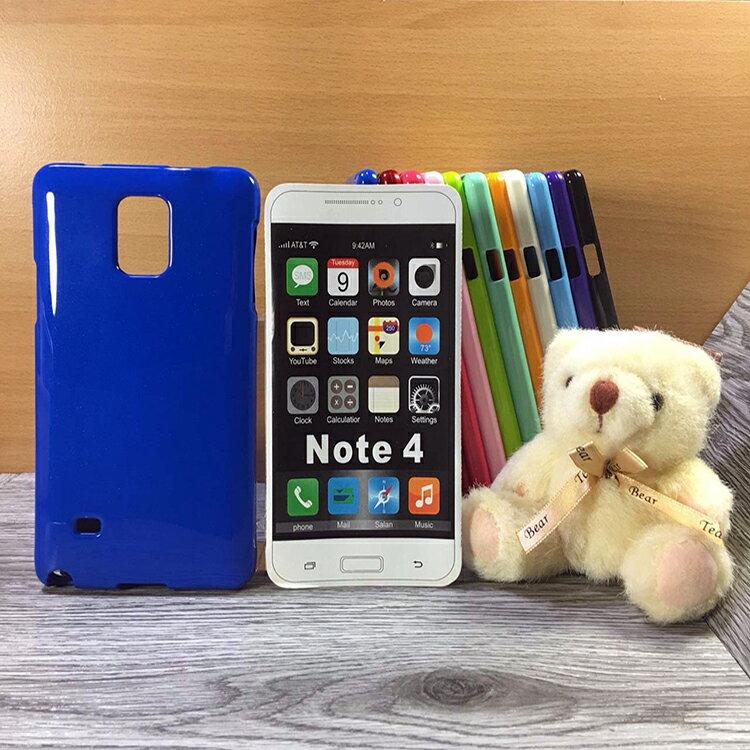 【福利品】大都會保護殼 Samsung Galaxy Note 4 N910U 保護殼 TPU 軟殼 閃粉 矽膠殼 手機殼 背蓋