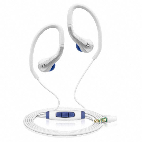 志達電子 OCX685i WH SENNHEISER OCX 685i Sports 運動用 防汗水 耳掛 耳道式耳機(宙宣公司貨) iPod iPhone iPad