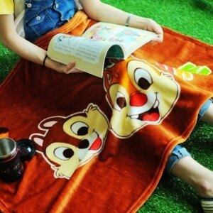 美麗大街【S105120813】奇奇蒂蒂造型毯保暖毯汽車毯冷氣毯