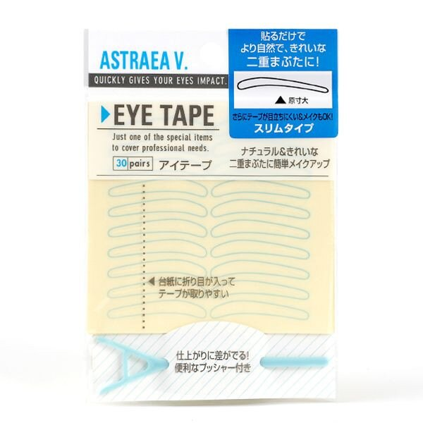 ASTRAEA V. 雅絲朵 雙眼皮貼纖細款 30對