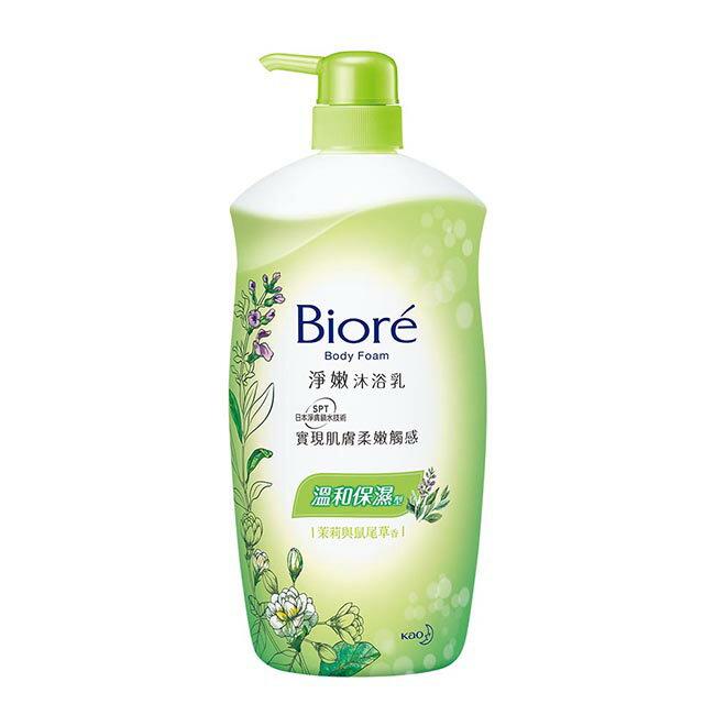 Biore淨嫩沐浴乳 溫和保濕型 1000ML