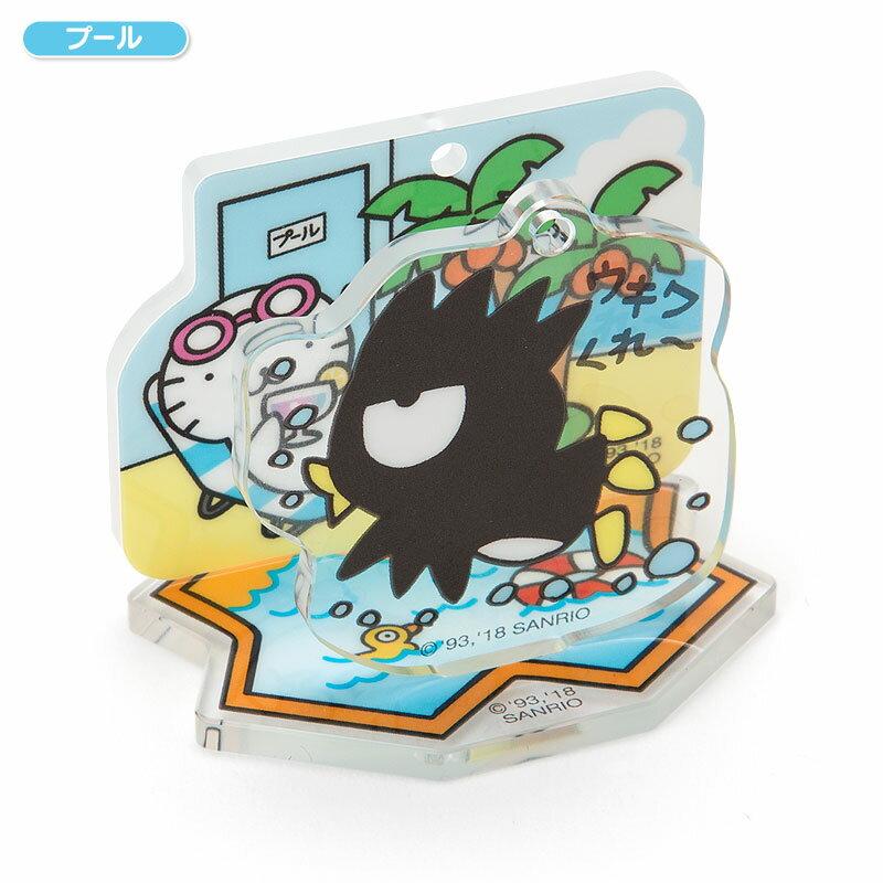 【真愛日本】18042000034 壓克力吊飾-XO游泳加ACG 三麗鷗 酷企鵝 國王企鵝 吊飾 鑰匙圈