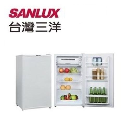 SANYO 三洋 93公升單門小冰箱 SR-B93A5 - 限時優惠好康折扣