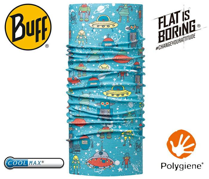 ├登山樂┤西班牙 BUFF 太空朋友 寶寶 Coolmax 抗UV頭巾 # BF115088-707