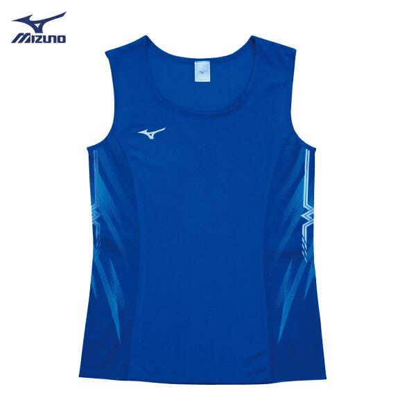 U2TA8C2316(深藍)超輕量柔軟高透氣吸汗快乾RUNNING女田徑背心【美津濃MIZUNO】