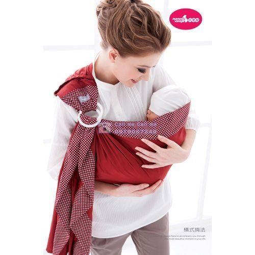 『121婦嬰用品館』六甲村‧樂活愛兒揹巾(火紅葉印) - 限時優惠好康折扣