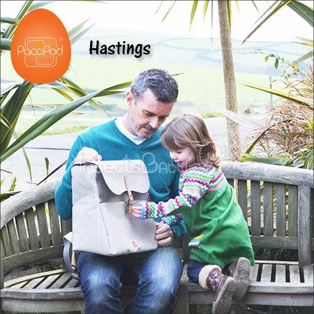 ✿蟲寶寶✿【英國PacaPod】配件分類小包 輕鬆整理 三合一時尚媽媽包(內附尿布墊)- Hastings