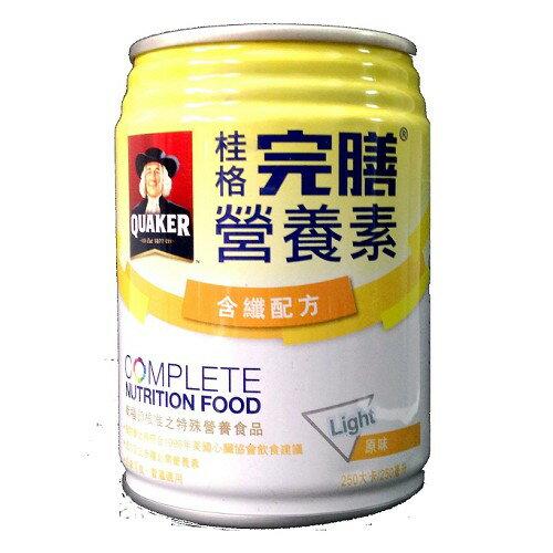 桂格 完膳營養素含纖配方 原味 250ml 24入/箱◆德瑞健康家◆【DR5281】