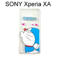 小叮噹週邊商品推薦哆啦A夢空壓氣墊軟殼 [嘟嘴] SONY Xperia XA F3115 (5吋)小叮噹【正版授權】